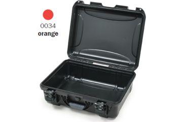 Nanuk 930 Case, Empty, Open, Orange