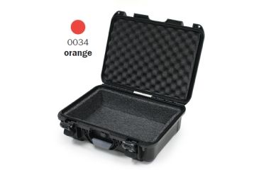 Nanuk 930 Case, Open, Orange w/ Foam Liner