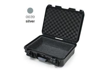 Nanuk 940 Case, Open, Silver w/ Foam Liner