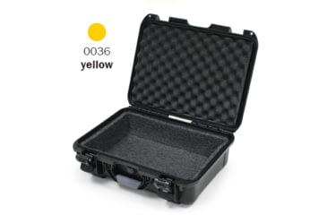 Nanuk 940 Case, Open, Yellow w/ Foam Liner