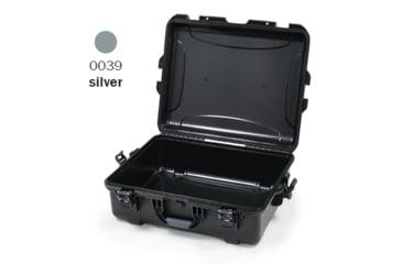 Nanuk 945 Case, Empty, Open, Silver