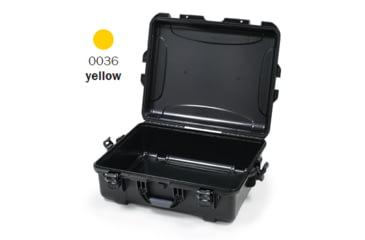 Nanuk 945 Case, Empty, Open, Yellow