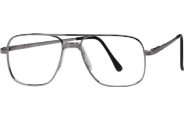 National NA0057 Eyeglass Frames - Matte Gun Metal Frame Color