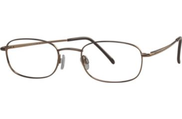 National NA0066 Eyeglass Frames - Matte Red Frame Color