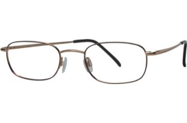 National NA0066 Eyeglass Frames - Gold Frame Color