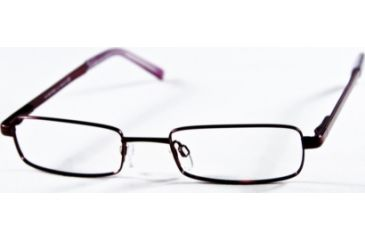 National NA0099 Eyeglass Frames - Shiny Bordeaux Frame Color