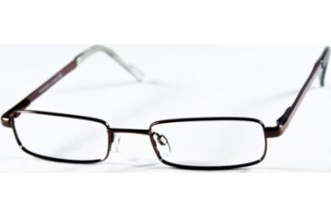 National NA0099 Eyeglass Frames - Shiny Gun Metal Frame Color