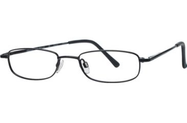 National NA0212 Eyeglass Frames - Black Frame Color