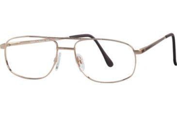 National NA0230 Eyeglass Frames - Gold Frame Color