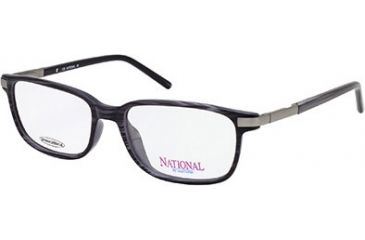 National NA0231 Eyeglass Frames - Blue Frame Color