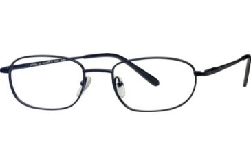 National NA0236 Eyeglass Frames - Matte Black Frame Color