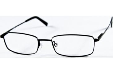 National NA0240 Eyeglass Frames - Matte Black Frame Color