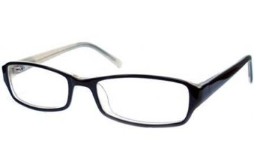 National NA0306 Eyeglass Frames - Black Frame Color