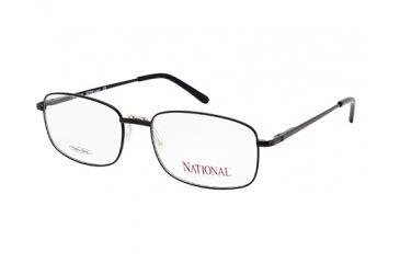 National NA0319 Eyeglass Frames - Matte Black Frame Color