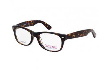 National NA0321 Eyeglass Frames - Dark Havana Frame Color