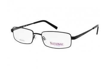 National NA0323 Eyeglass Frames - Matte Black Frame Color
