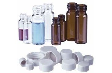 National Scientific Screw-Thread Sample Storage Vials, National Scientific B7815-15 White Storage Caps With Ptfe Liner
