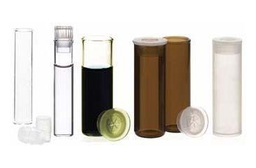 National Scientific Shell Vials, National Scientific C4011-80 Vials Clear Vials
