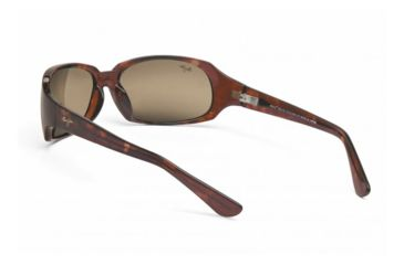 Maui Jim Navigator Sunglasses w/ Tortoise Frame and HCL Bronze Lenses - H110-10, Back View