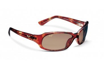 Maui Jim Navigator Sunglasses w/ Tortoise Frame and HCL Bronze Lenses - H110-10, Quarter View