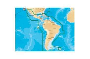 Navionics Gold Central and South America Digital Marine Map   Free on
