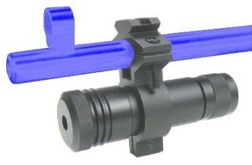 NC Star ARLSG Green Laser Sight w/ Universal Barrel Mount for Rifles and Shotguns