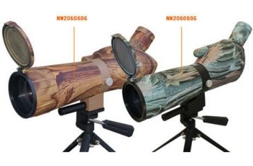 NC Star 20-60X60 Spotting Scope w/ Tripod / Laser - 2 Shades of Camo to Choose from