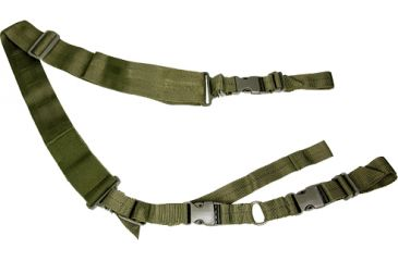 NcSTAR 2 Point Tactical Sling - Green AARS2PG
