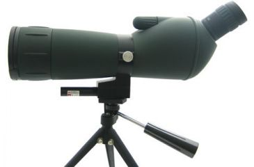 1-NCStar 20-60x60 Spotting Scope Green Lens With Tripod / Laser NG206060G