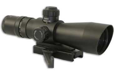 1-NC Star Mark III Tactical Series 3942G 3-9X42 Compact Riflescopes w/ Fully Multi Coated Lenses for Weaver/Picatinny