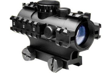 NcStar 3 Rail Red Dot Weapon Sight w/ Weaver Mount - RGB D3RS135
