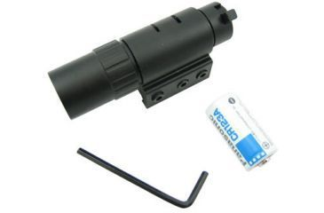 1-NcSTAR Gun Accessory - Pistol & Rifle Flash Light With Weaver Base APTF