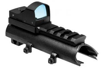 1-NcSTAR Green Micro Dot Mount & Rail SKS Combo