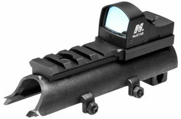 2-NcSTAR Green Micro Dot Mount & Rail SKS Combo