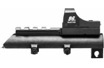 3-NcSTAR Green Micro Dot Mount & Rail SKS Combo