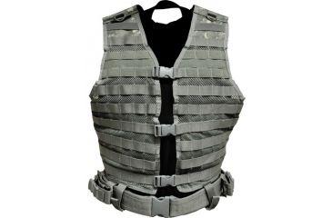 NcStar MOLLE/PALS Digital Camo ACU Tactical Mesh Vest, CPV2915D