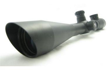 NcSTAR New Mark III Series Scope - 6-24x50 G-Ill. Mil-Dot / AO / 30mm / Ring / Green Lens SM3MAO62450G Riflescope Rifle scope