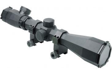 NcSTAR Octagon Scope Series-3-9x40 Scope, Black, 3-9X40 SOCTP3940G