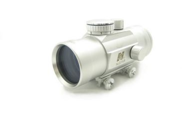 NcSTAR Red Dot Sight - 1x45 T-Style Silver Red Dot - Weaver Base DTS145