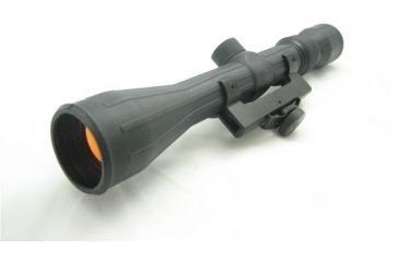 NcSTAR Regular Rifle Scope - 3-9x40 Rubber Scope / Ruby / AR Mount SFRAQ3940R Riflescope