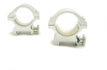 NcSTAR Scope Ring - 1'' Weaver Ring-silver RS01