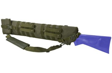 NcStar Tactical Shotgun Scabbard, Green CVSCB2917G