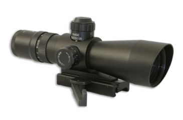 Nc Star Zombie Stryke Mark III Rifle Scope Mil-Dot 3-9x42 w/ Flashlight And Green Laser Sight STM3942G/ASFLG34