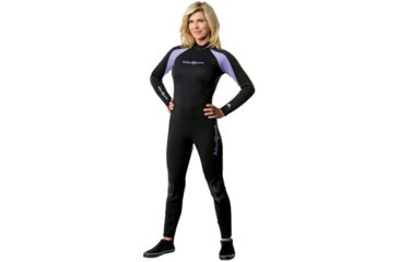 Neosport 3/2mm Wetsuit Womens Pur/blk 8 S832WB-51-8
