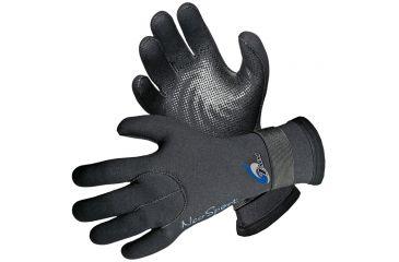 Neosport 3mm Velcro Glove Blk Sm SG30V SM BLK