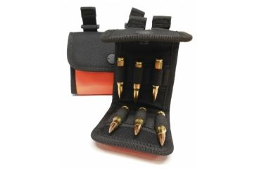 Neverlost Cartridge Pocket Rifle, Holds 10, Black/Orange 8040