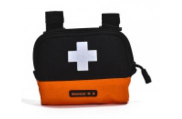 Neverlost First Aid Pocket, Black/Orange 8044