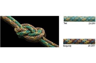New England Ropes Maxim Unity Double Rope, Teal, 8mmx60m 100109
