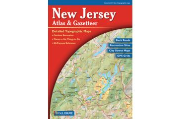 New Jersey Atlas, Publisher - Delorme