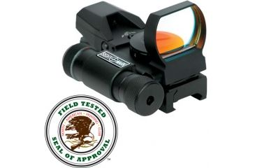New Sightmark Laser Dual Shot Reflex Sight - Multi Reticle, Matte SM13002